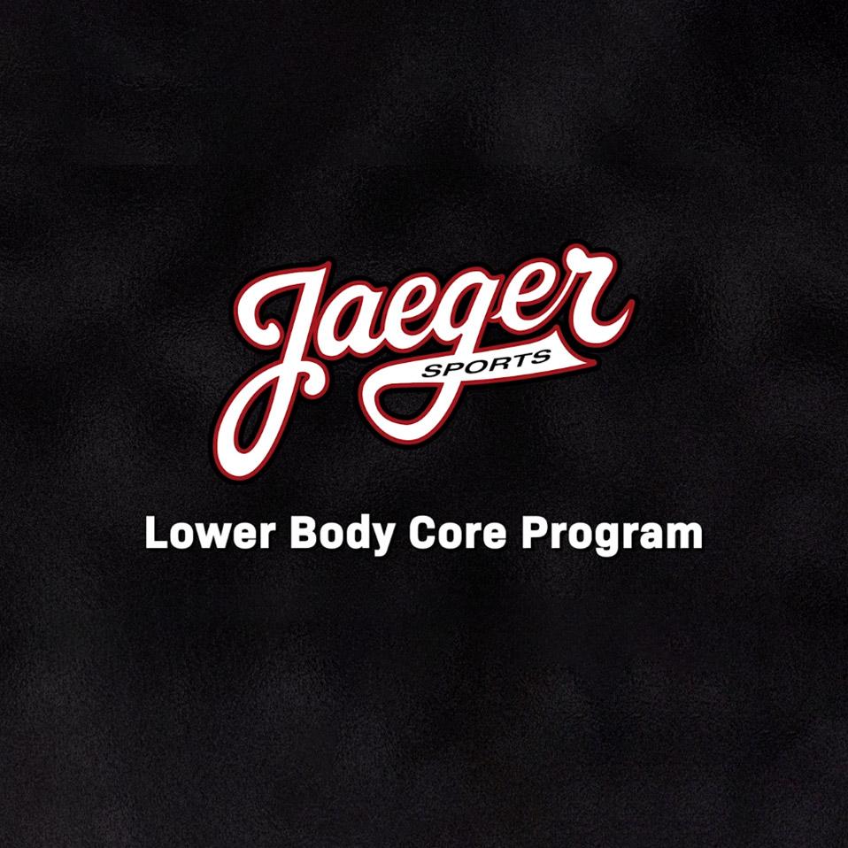 Lower Body/Core Program